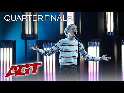 "Shy Teen Singer Benicio Bryant Performs AMAZING Original, ""Who I Am"" - America's Got Talent 2019"