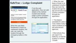 SafeTrac YouTube video