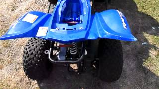 10. 2008 Yamaha raptor 50 carb trouble