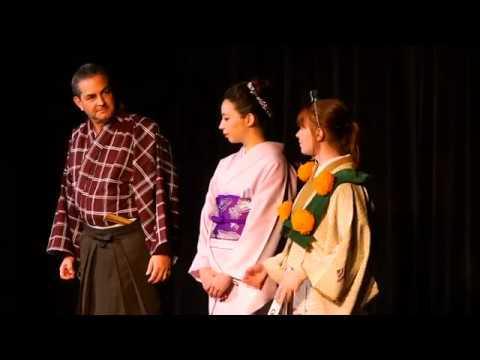 Japanisches Theater - Asia Studien Feier - PCC