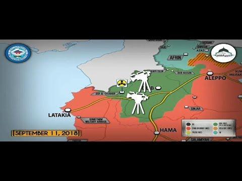 Обзор военных действий в Сирии. 12-е сентября 2018г. - DomaVideo.Ru