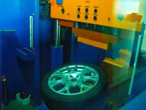 Прочность колёсных дисков WSP Italy W250 SAVONA на косой удар обода (Alfa Romeо)