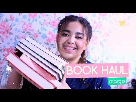 Book Haul de Março -  14 livros incríveis | Estrelado