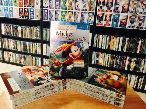My Walt Disney Animation Collection Of Classic Short Films On DVD