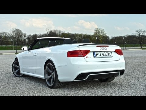 (ENG) 2013 Audi RS 5 Cabriolet – test drive and review