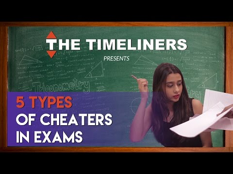 5 Types Of Cheaters In Exams | The Timeliners