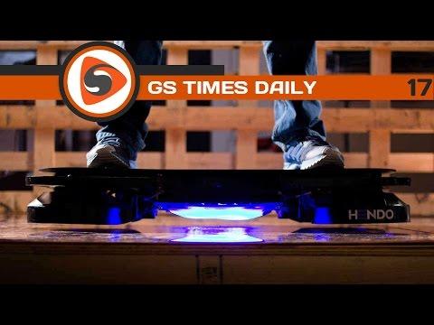 GS Times [DAILY]. Создан летающий скейтборд