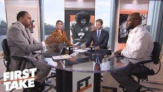 First Take, James Harrison on Trump's response to Nike's Kaepernick campaign   First Take   ESPN