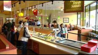 Information about the Souper Salad Franchise program.