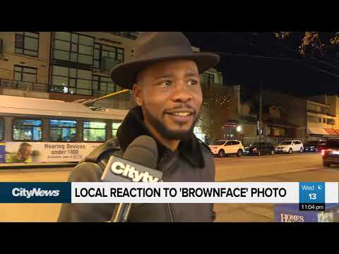 Locals react to Trudeau 39Brownface39 photo