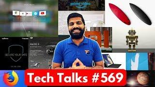 Tech Talks #569 - Xiaomi Folding Phone, DJI Mavic 2, BlackBerry Evolve X, Apple Free Repair, Mi 4C