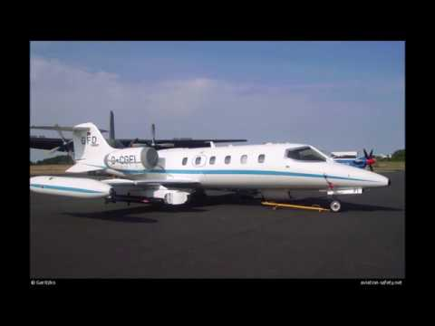 Mid Air Collision - Learjet 35A...