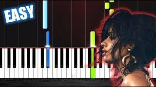 Video Camila Cabello - Havana - EASY Piano Tutorial by PlutaX MP3, 3GP, MP4, WEBM, AVI, FLV Januari 2018