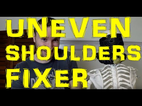 FIX Uneven Shoulders That Are Too Elevated By Undoing This Shoulder Imbalance
