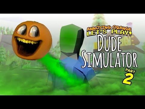Video Dude Simulator #2 [Annoying Orange Plays] download in MP3, 3GP, MP4, WEBM, AVI, FLV January 2017