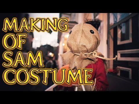 Making of Sams Costume | Trick 'r Treat: Season's Greetings