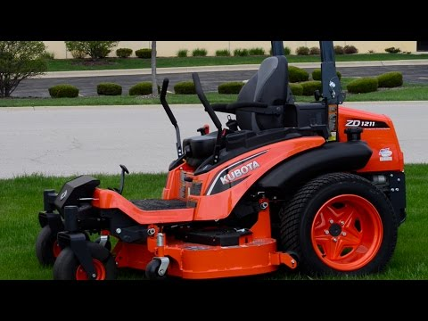 Kubota ZD1211 Zero Turn Riding Mower