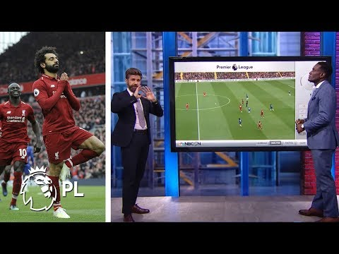 Premier League Tactics Session: Mohamed Salah's Wonder Goal V. Chelsea | NBC Sports