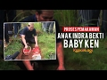 Proses Pemakaman Anak Indra Bekti, Baby Ken