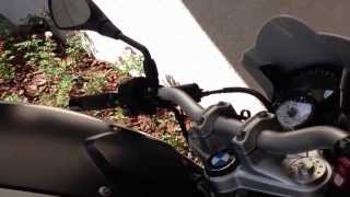 9. BMW F800R exhaust AKRAPOVIC