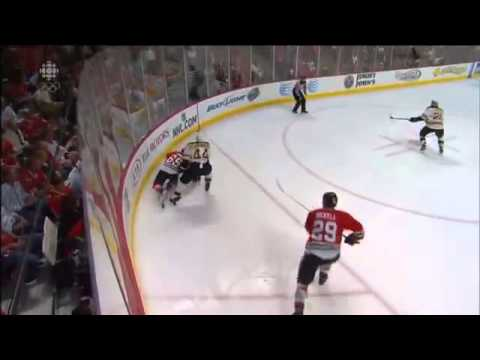 Andrew Shaw 3rd OT Goal 2013 Stanley Cup Finals Game 1
