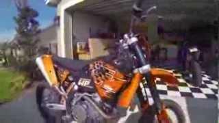 2. 2008 KTM EXC-R 450