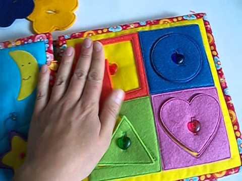 Развивающие книги для детей своими руками мастер класс видео
