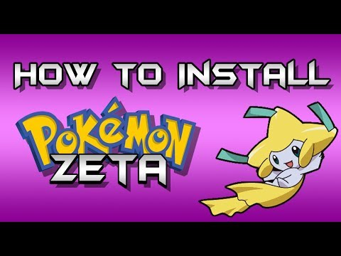 comment installer pokemon zeta