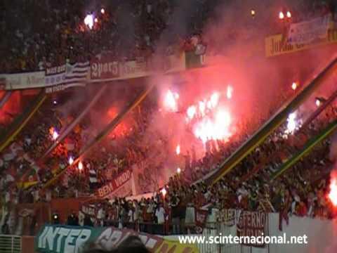 Inter x São Paulo - Melhor Amigo Entrada - Popular do Inter - Libertadores 2010 - Guarda Popular do Inter - Internacional - Brasil - América del Sur