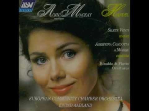 Ann Mackay sings Handel (Alleluia from Silete Venti)