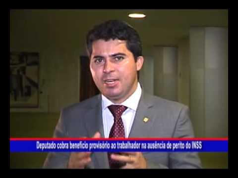 Deputado Marcos Rogério cobra benefício provisório ao trabalhador na ausência de perito do INSS