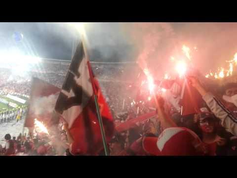 La Guardia Albi-roja Sur, & Su Bengalazo En La Final 2014, Ante Ind. Medellin. - La Guardia Albi Roja Sur - Independiente Santa Fe