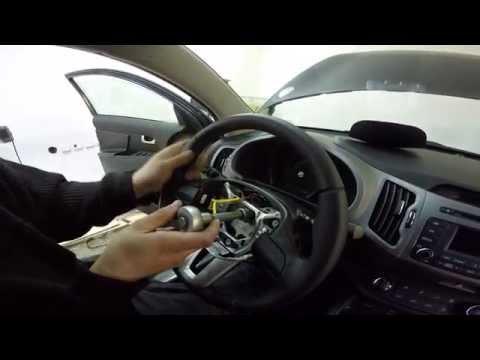 Кнопки управления магнитолой на руле киа спортейдж 3 снимок