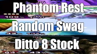 Phantom Rest, Random Swag, 8 Stock Falcon Ditto