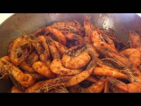 Louisiana Spicy Shrimp Recipe (Boiling Crab - Whole Sha-Bang Style)
