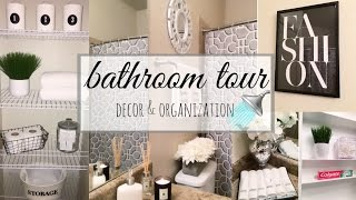 BATHROOM DECORATING IDEAS & TOUR