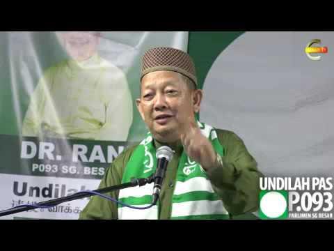 #PRKSungaiBesar : Politik Sebenarnya Ada Dalam Islam - Dr Rani