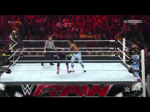 WWE Raw 2/16/15 - 16th February 2015 Full Show Part 4/10