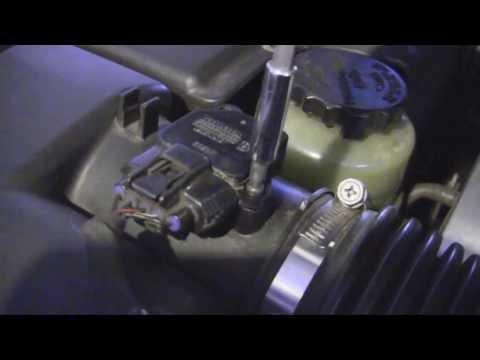 Lexus LS430, 2001 – Proper Cleaning: Mass Air Flow (MAF) Sensor, codes P0171, P0174, (DIY ~$10)