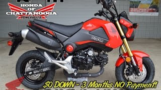 5. 2015 Honda Grom Video Review of Specs & Walk Around - SALE : TN / GA / AL area Motorcycle Dealership