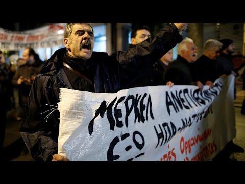 Επίσκεψη Μέρκελ: Επεισόδια και χημικά στο κέντρο της Αθήνας …