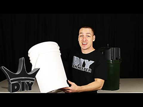 HOW TO: Build An XL Aquarium Canister Filter With A 5 Gallon Bucket - 1 Of 2