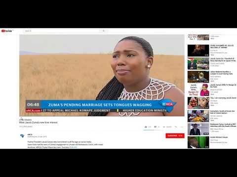 Jacob Zuma New Wife - Censorship by ENCA