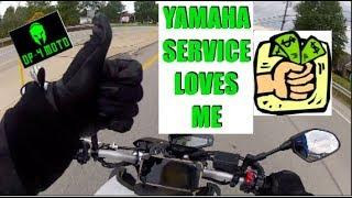 10. Yamaha FZ09 (MT09) First Service - Cost?
