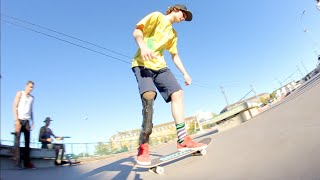 Epinal France  City pictures : ONE LEGGED SKATER - Weekend Getaway Clip - Epinal France