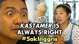 Video #SokInggris: Kastamer is Always Right (feat. iBob from Cameo Project) MP3, 3GP, MP4, WEBM, AVI, FLV Desember 2018