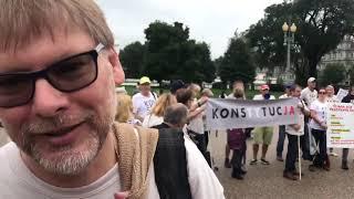 """Brawoooooo ! Przed Białym Domem w Waszyngtonie: """"KONSTYTUCJA!"""""""