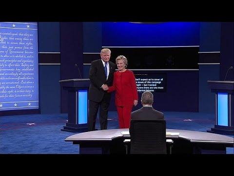 Αμερικανικό ντιμπέιτ: Τα χρηματιστήρια «ψηφίζουν» Χ. Κλίντον – economy