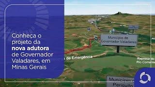 Conheça o projeto da nova adutora de Governador Valadares, MG