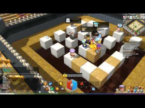 MapleStory 2 - Alpha Test: Trap Master (Mini Game)